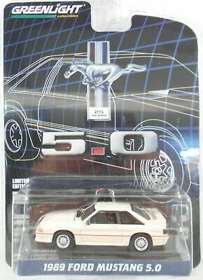 2019 Greenlight 1:64 Anniversary S7 *1989 Ford Mustang 5.0* 25 Years