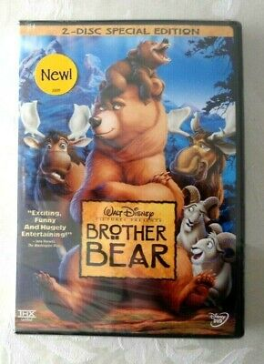 NEW(SEALED) Brother Bear (DVD,2004,2-Disc Set,Special Edition) Buena Vista Stamp