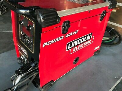Lincoln Electric Power Wave C300 Advance Process Welder MIG TIG Stick