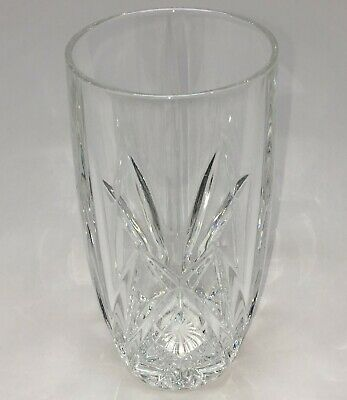 """Marquis by Waterford 6"""" Crystal Highball Tumbler 14 oz. Brookside Pattern"""