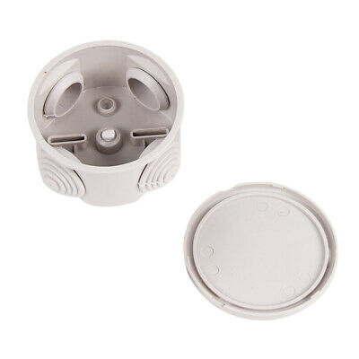 4-hole Round Waterproof Junction Box IP66 Adaptable Enclosure 65x35mm