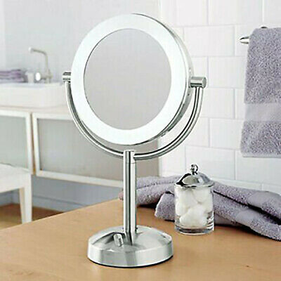 Makeup Vanity Mirror 10X/1X Natural-Light Tabletop Makeup Mirror