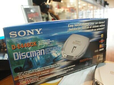 Sony (D-E446Ck) Cd Compact Player In Original Box / New : Never Used !
