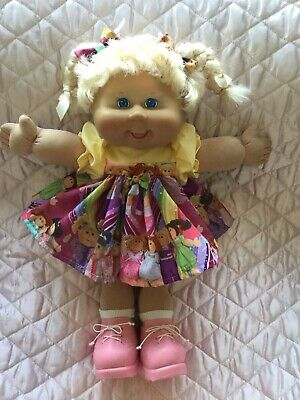 Cabbage Patch Kid Doll Dress Set. C.p.k.fabric.no Doll.