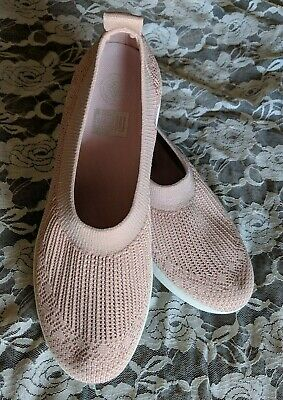 433d3bdca New Fitflop Sneakers Women s Uberknit Slip On Ballerina Shoes US Size 11