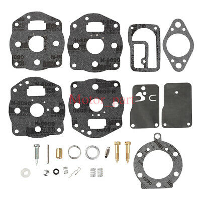 Carburetor Rebuild Kit For Briggs Stratton 402707 422437 422442 422445 Engine