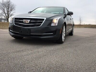 2016 Cadillac ATS Luxury Package Cadillac ATS AWD Sedan
