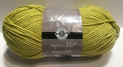 Loops & Threads Impeccable Yarn GRASS # 01223 Acrylic 4.5 oz 4-Med Craft