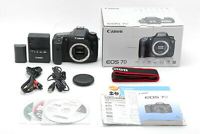 【Near MINT in Box】 Canon EOS 7D 18.0MP Digital SLR Camera Body Only from JAPAN