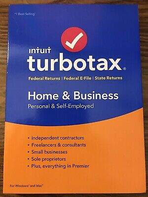 Turbotax 2018 Home & Business