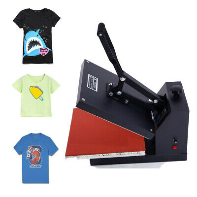 High Quality Clam shell Heat Press T-shirt Digital Transfer Sublimation Machine
