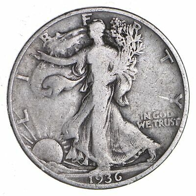 1936-S Walking Liberty 90% Silver US Half Dollar *311