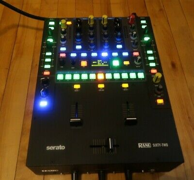 Rate Sixty-Two DJ Battle Mixer Sixty Two 62 with SRD ULTRAlite Pro Fader