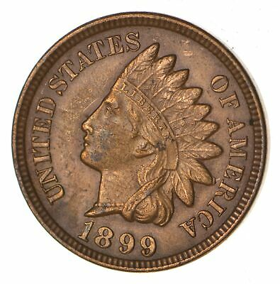 1899 Indian Head Cent Penny - Better Date *616