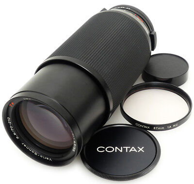 Contax Carl Zeiss Vario-Sonnar 70-210mm F3.5 T* Lens. Filter For Contax C/Y