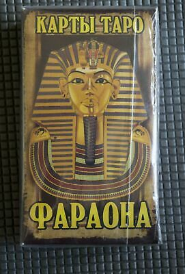 CARDS Taro Pharaoh (large format) 78 pс 14x8cm+ a guide for fortune telling