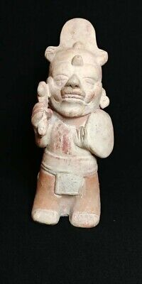 Pre-Columbian Veracruz Warrior figure from Mexico. 600 ad.