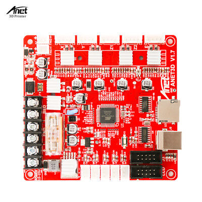 Anet A1284-Base V1.7 Control Board Mother Board Mainboard For Anet A8/A6/A3S UK