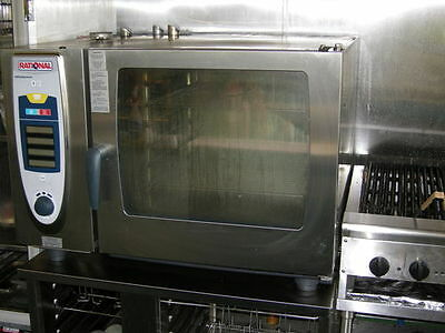 Rational SCC 62 SelfCooking Center Combi Oven