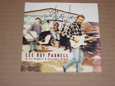 Lee Roy Parnell Signed/Autographed CD Sleeve/Obtained In Person/Free Shipping!