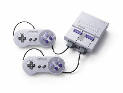 SNES Classic Mini - Super Nintendo Entertainment System with extra cables