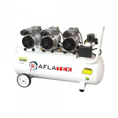 Quiet Compressor Oil-Free Air Compressor Aflatek 80l 230v 300l/Min 69db 1800w