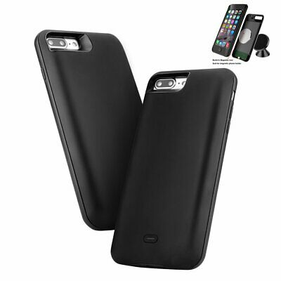 10000mAh Magnetic Battery Charger Case Cover Power Bank Pack For iPhone 8 7 Plus