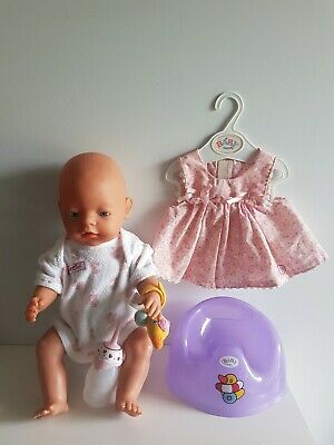 EASTER Dress BABY BORN Doll - ZAPF CREATION, Blue Eyes, Clothing & Accessories