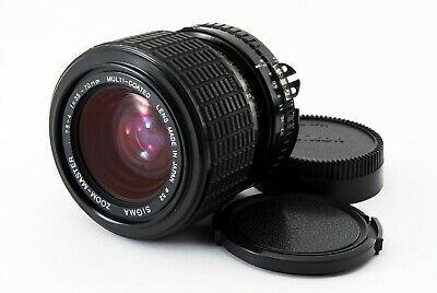 Exc++++ SIGMA Zoom-Master 35-70mm f2.8-4.0 for Nikon AI-S Mount Lens Japan # 377