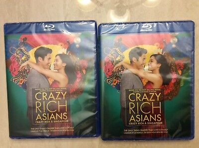 Crazy Rich Asians - Blu-ray/DVD, Two copies unopened