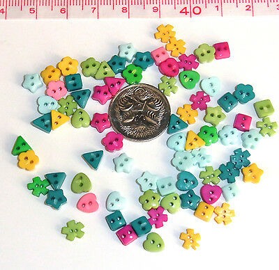 per pack DressItUp-7692 Dress It Up Shaped Novelty Buttons Tiny Dinos