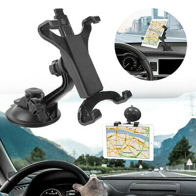 """AU 360° Car Windshield Suction Cup Mount Holder Stand For 7"""" ~ 10.1"""" Tablets GPS"""