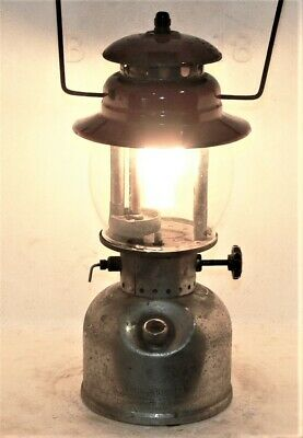 Vintage as found Coleman 249 scout kerosene lantern, Canada C39, burns good.