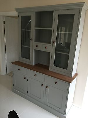 Welsh dresser painted solid wood 5ft