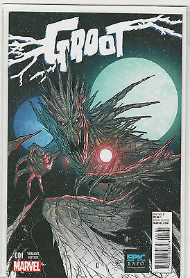 Groot #1 Epic Fan Expo Variant Marvel Comics Guardians of the galaxy VF+