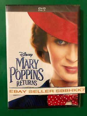 Mary Poppins Returns DVD AUTHENTIC W/DISNEY POINTS INSERT READ New Free Shipping