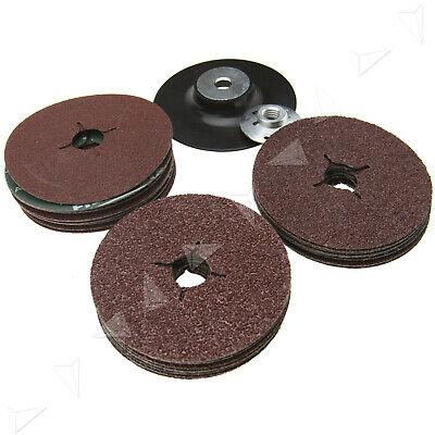 115mm Rubber Backing Angle Grinder Pad For Fibre Discs /& Sanding Sandpaper Sheet