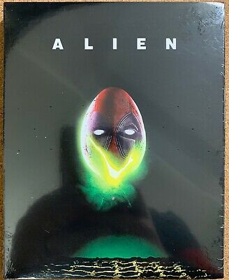 New Alien Blu Ray Walmart Exclusive + Rare Deadpool Photobomb Slipcover Sleeve