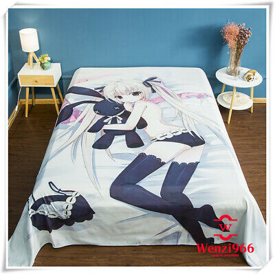 """Anime TouHou Project Bedding Cover Bed Sheet Double-bed Otaku Gift 59/""""X78.7/""""#Z18"""