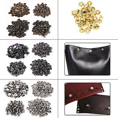 15mm Brass Heavy Duty Press Studs Snap Fasteners DIY For Leather Fashion Jackets
