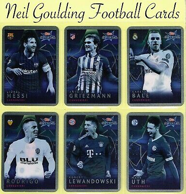 Champions League CRYSTAL 2018-2019 ☆ CANNONIERI ☆ Football Cards #101 to #120