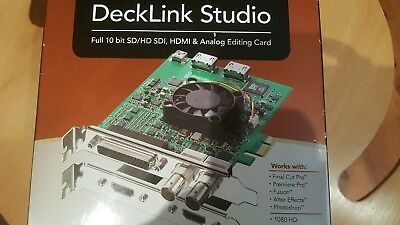 Blackmagic Design Decklink Studio SD/HD SDI, HDMI ANALOG editing card