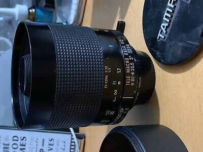 Tamron SP 500mm f/8 Tele-Macro Mirror Lens with Nikon Adaptall mount