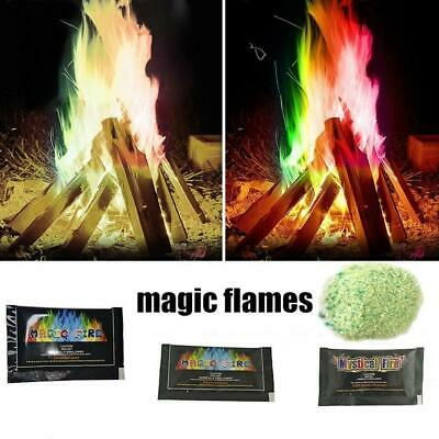 10/15/25g Mystical Fire Colorful Flames Outdoor Bonfire Game Flame Powder