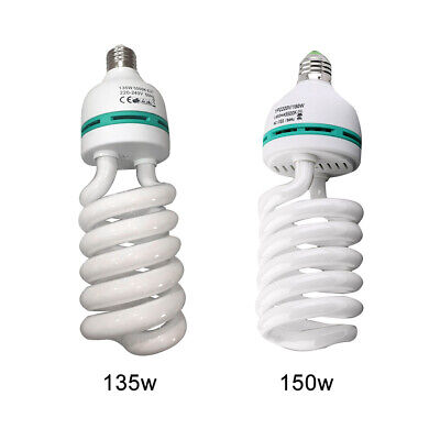 E27 220V 5500K 135W/150W Daylight Lamp Studio Bulb Photo Photography White