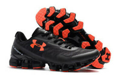 5dcf95bb286b2 Under Armour Scorpio 2 Mens Black Running Road Sports Shoes Trainers  US6.5-10
