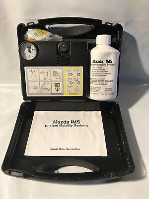 Mazda IMS, Instant Mobility System Puncture Repair Kit New In Box And Sealed