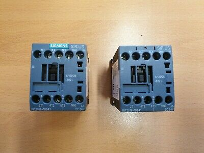 Siemens 4KW 400V 24VDC 3P Power Contactor 3RT2016-1BB41