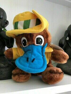 Vintage Collectable - WORLD EXPO 88 - Expo Oz - Soft Toy with tags Preloved