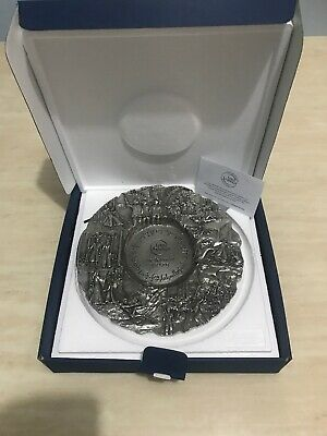Royal Selangor Lord Of The Rings Return Of The King Pewter Plate